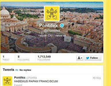 Franciszek I już na Twitterze