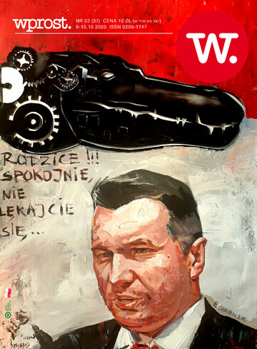 Okładka tygodnika Wprost nr 37/2020 (1953)