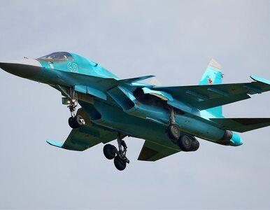 Rosja. Dwa myśliwce Su-34 zderzyły się ze sobą w powietrzu