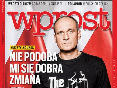 """Kukiz o """"dobrej zmianie"""", """"szafa ministra Kamińskiego"""" i problemy..."""