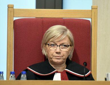 """Prezes TK skomentowała decyzję SN. """"Jest jasna dyspozycja, zdecydował..."""