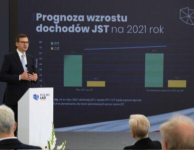"""8 mld zł dla samorządów. Morawiecki: Za czasów Tuska """"zwinąć asfalt,..."""