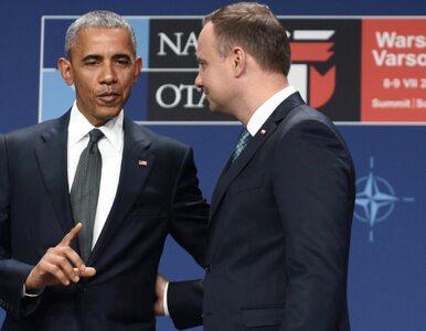 """Zagraniczne echa wypowiedzi Obamy. """"Zganił Polskę"""", """"Duda stał obok, nie..."""
