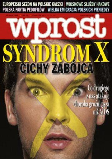 Okładka tygodnika Wprost nr 30/2006 (1233)