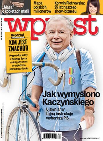 Okładka tygodnika Wprost nr 20/2014 (1628)