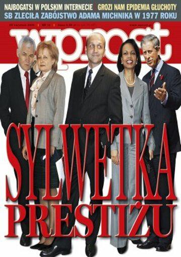 Okładka tygodnika Wprost nr 16/2006 (1219)
