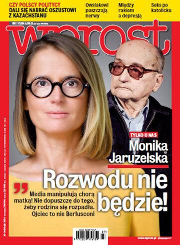 Okładka tygodnika Wprost nr 7/2014 (1615)