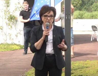 """Zabawna sytuacja na konferencji Elżbiety Witek. Marszałek do """"intruzów"""":..."""