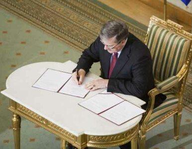 Prezydent podpisał: amerykańskie rakiety trafią do Polski