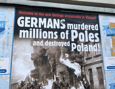 Nowy ambasador Niemiec przywitany kontrowersyjnymi plakatami....