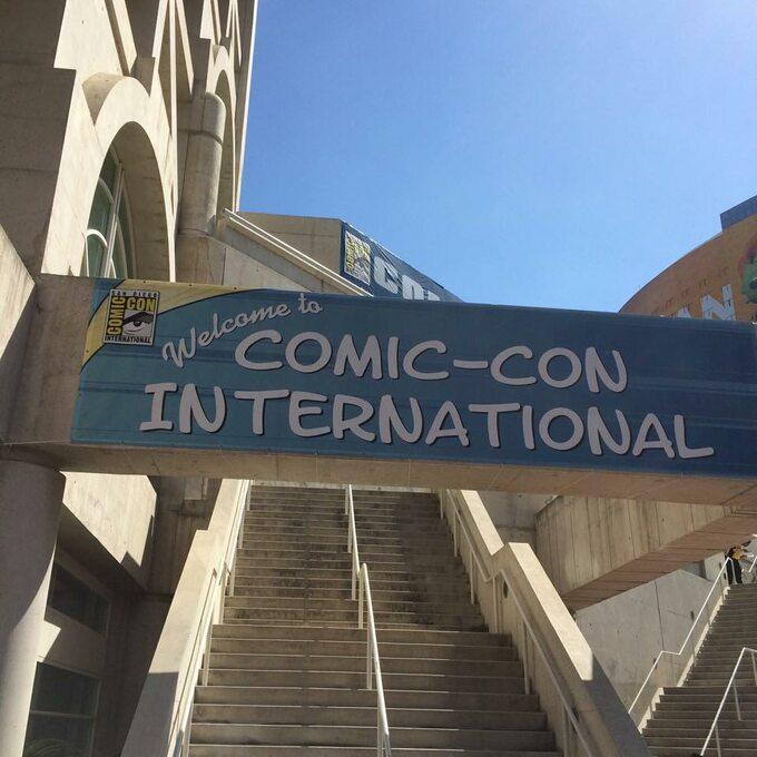 Comic-Con International - plakat
