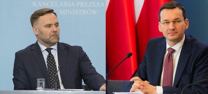 Jackiewicz vs Morawiecki