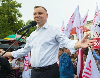 """Duda chce, żeby Polacy zarabiali tak, jak mieszkańcy zachodu Europy. """"Co..."""