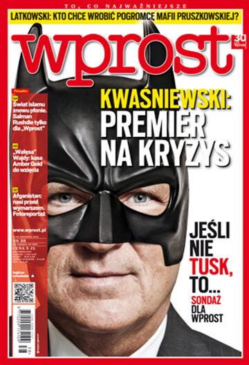 Okładka tygodnika Wprost nr 38/2012 (1544)