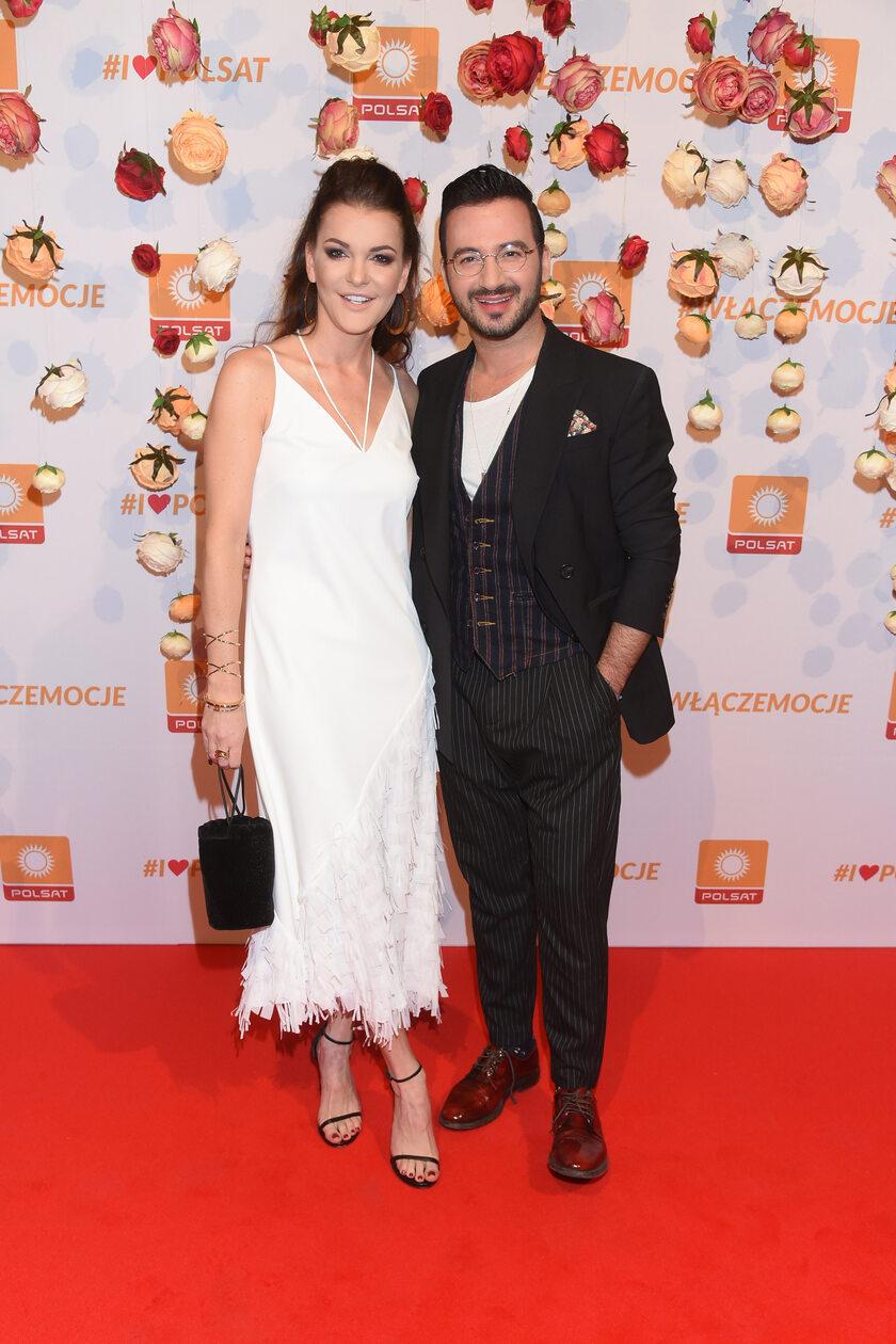 Agnieszka Radwańska i Stefano Terrazzino