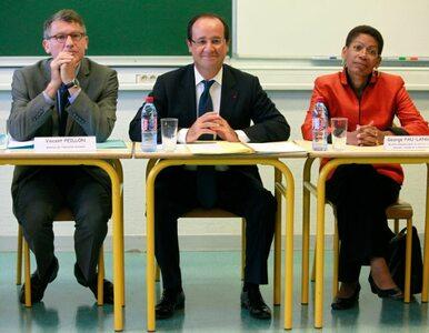 Nauczyciele nie wierzą w obietnice Hollande'a