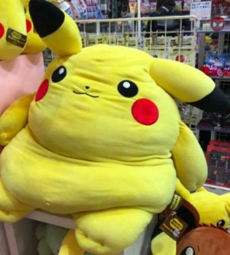 Grubiutki Pikachu