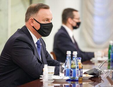 """Spotkanie Andrzeja Dudy z Mateuszem Morawieckim po wecie. """"To dobro,..."""