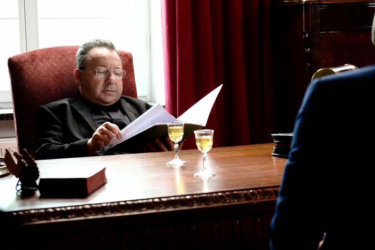 Zbigniew Zamachowski jako Zakonnik z Torunia
