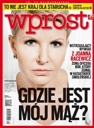 Okładka tygodnika Wprost nr 40/2012 (1546)