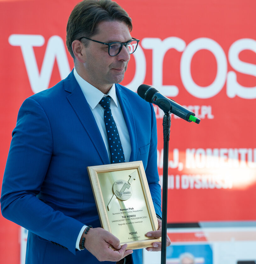 Roman Ptak, burmistrz miasta i gminy Niepołomice
