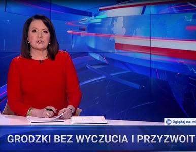 """""""Wiadomości"""" krytycznie o marszałku Senatu. """"Grodzki bez wyczucia i..."""