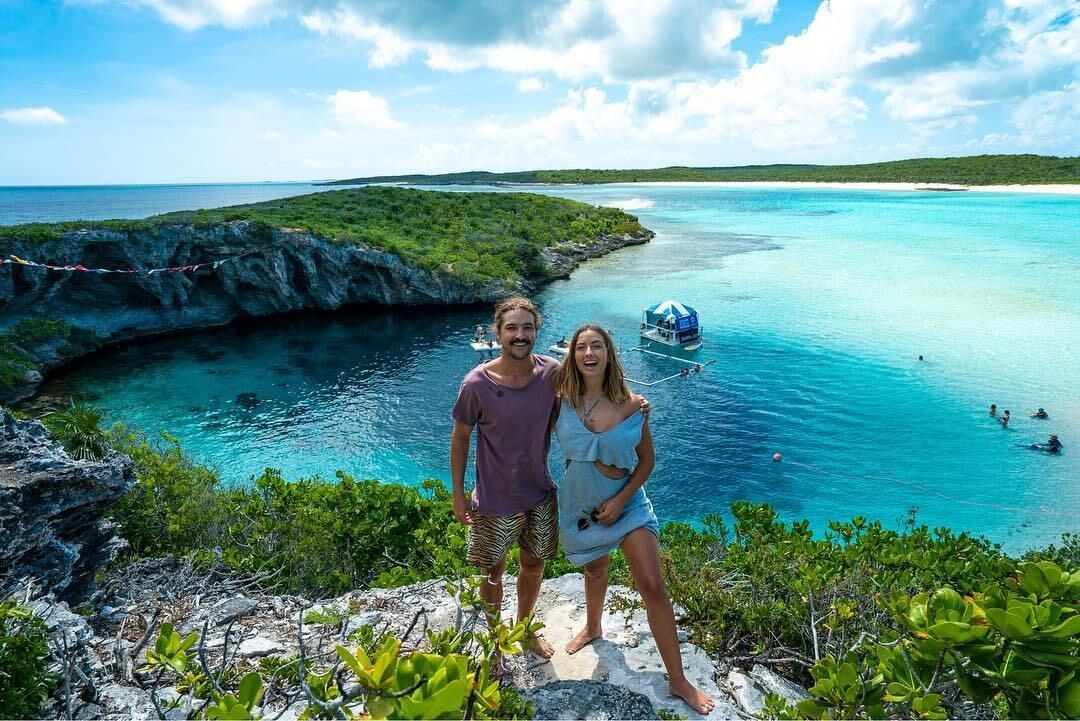 Para z Australii podczas podróży