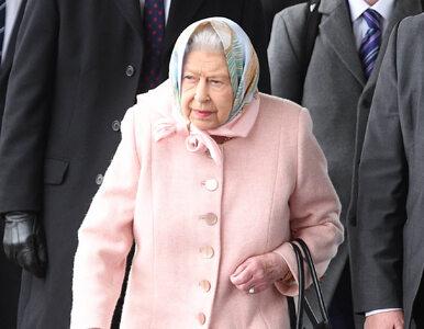Elżbieta II jest chora. W ostatniej chwili odwołała oficjalne spotkanie