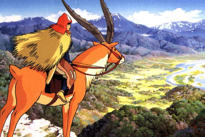 Księżniczka Mononoke / Mononoke-hime (1997)