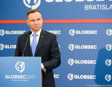 Andrzej Duda: Zdecydowałem się uczynić Inicjatywę Trójmorza jednym z...