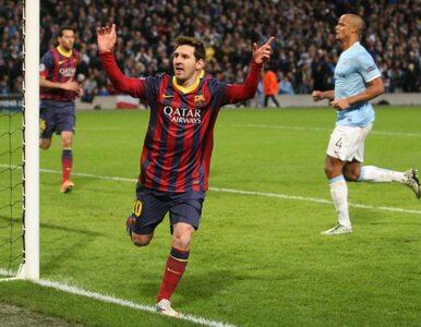 LM: Manchester City nie dał rady Barcelonie. Gole Messiego i Alvesa
