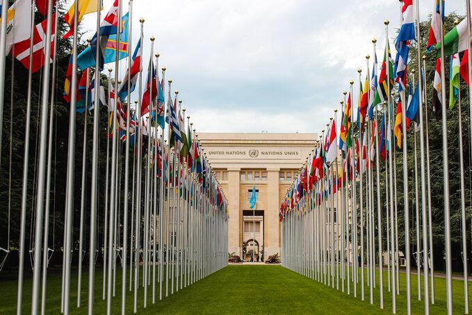 Siedziba ONZ wGenewie, zdjęcie ilustracyjne