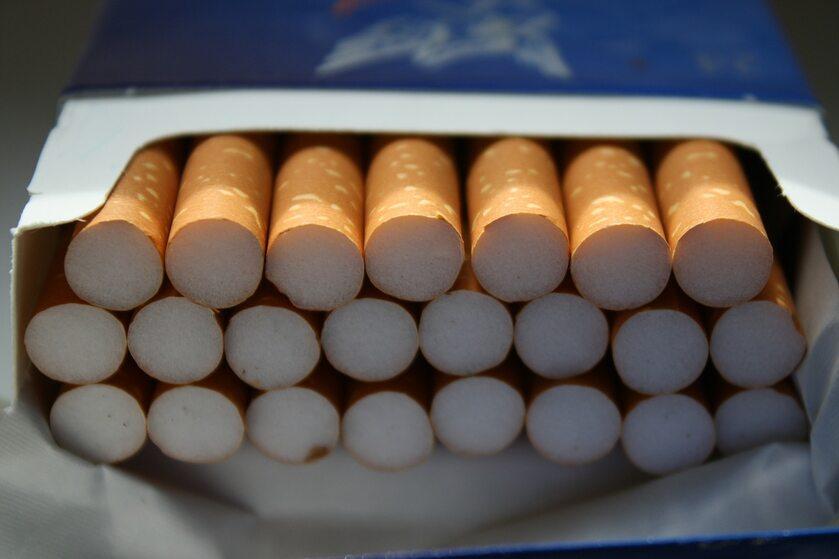 Paczka papierosów, zdjęcie ilustracyjne