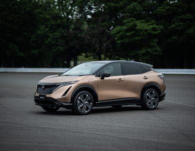 Nowy Nissan Ariya. Crossover coupé na nowe czasy, bardzo mocny konkurent...