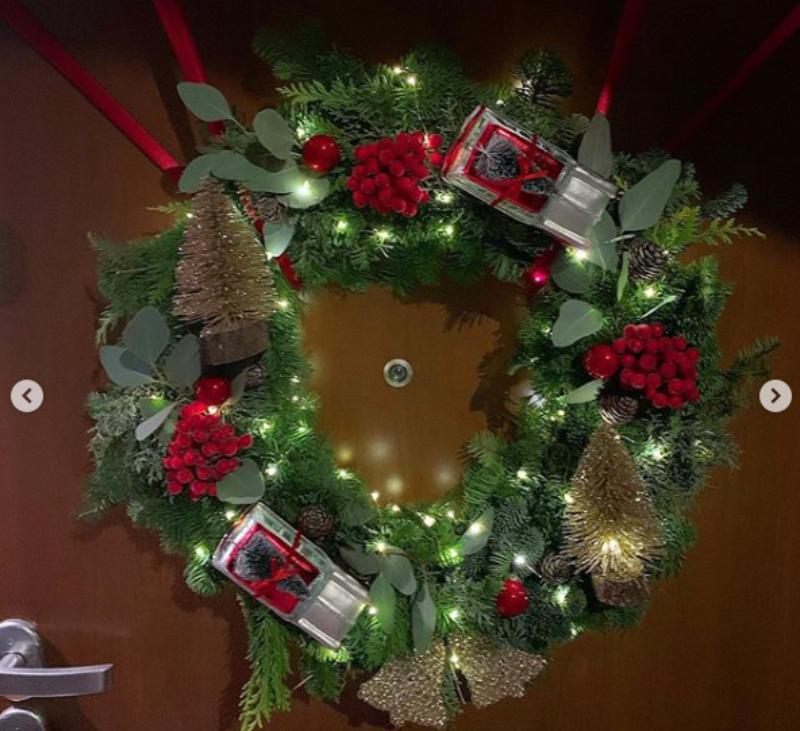 Świąteczne dekoracje Małgorzaty Rozenek-Majdan