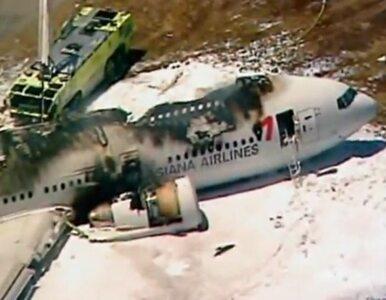 Katastrofa samolotu w San Francisco. Pasażerowie dostaną po 10 tys. dolarów