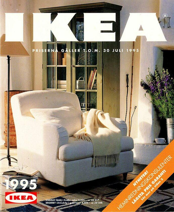 Okładka katalogu IKEA z 1995 roku