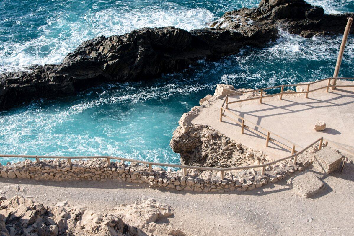 Fuerteventura. Jaskinie Ajuy