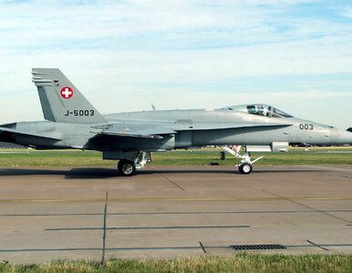 Szwajcarzy zdecydują w referendum o kupnie myśliwców. Neutralny kraj...