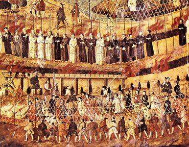 Brutalne prześladowania pierwszych chrześcijan w Japonii. 26 męczenników...