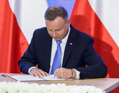 Andrzej Duda podpisał wniosek o przedłużenie stanu wyjątkowego