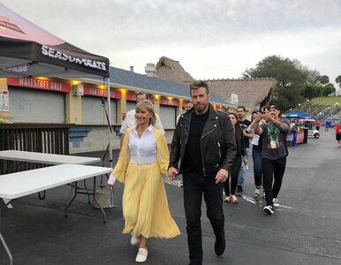 John Travolta i Olivia Newton-John znów jako Danny i Sandy z musicalu...