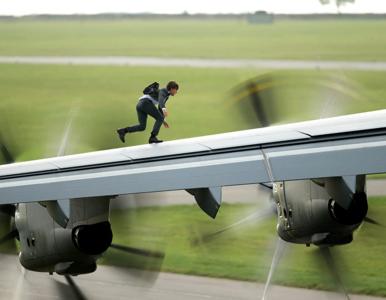 """""""Mission: Impossible 7"""". Tom Cruise dał popis kaskaderski! Zobaczcie to..."""
