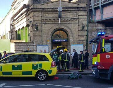 """Nowe informacje ws. eksplozji w metrze w Londynie. Policja mówi o """"akcie..."""