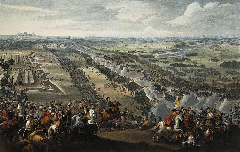 8 lipca 1709 roku. Bitwa pod Połtawą. Starcie zbrojne podczas wielkiej wojny   północnej, stoczone pod Połtawą na Ukrainie Lewobrzeżnej pomiędzy wojskami króla   szwedzkiego Karola XII a wojskami rosyjskimi cara Piotra Wielkiego. (fot. domena publiczna)