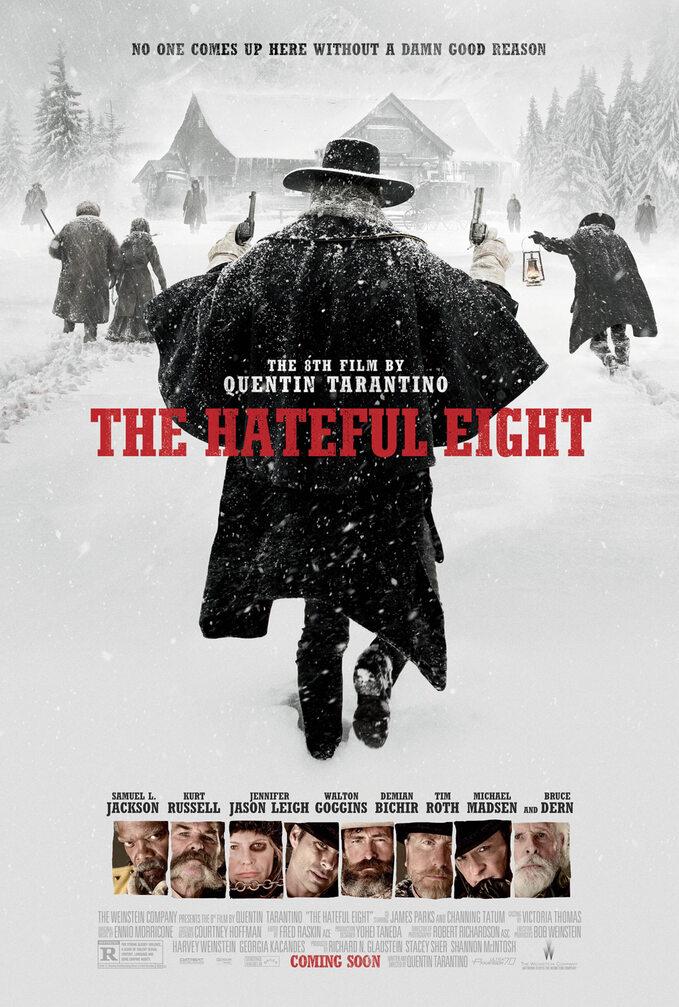 Nienawistna Ósemka / The Hateful Eight (2015) - plakat