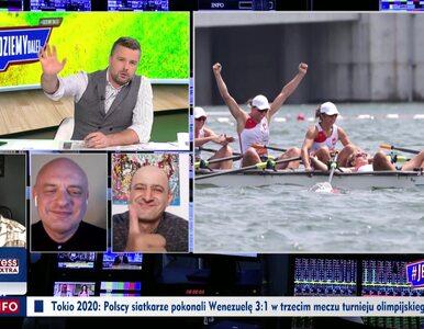 """TVP Info odpowiada """"Faktom"""", a Rachoń gratuluje wioślarkom...."""