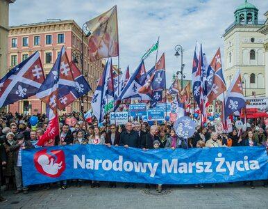 """Organizatorzy Marszu Życia złożyli skargę na """"Wiadomości"""". Chodzi m.in...."""