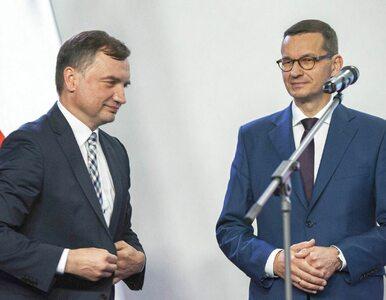 Ziobro i Morawiecki na dwóch różnych biegunach? Minister sprawiedliwości...