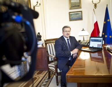 Dwóch na trzech Polaków jest zadowolonych z pracy prezydenta